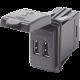 12/24V Contura Mount Dual USB Charger 5V 4.8A - P/N #1039